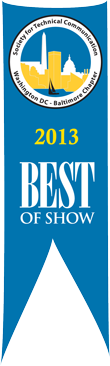 2013 Competition Best of Show color ribbon