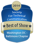 STC WDCB 2014-2015 Competitions Best of Show Badge