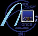 Best of Show winner's badge for 2021