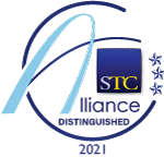 STC Alliance 2020-2021 competition badge: Distinguished