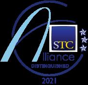 Distinguished winner's badge for 2021