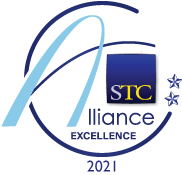 Excellence winner's badge for 2021