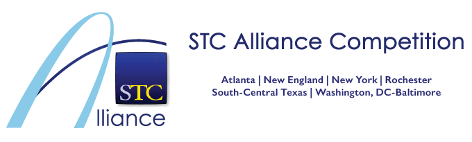 STC Alliance competition page banner for 2021 with Alliance logo