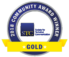 STC Community Achievement Award badge