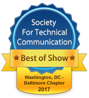 2016 Competition Best of Show badge