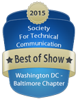 STC WDCB 2015-2016 Competitions Best of Show Badge
